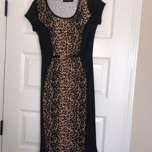 Used/Good Condition Leopard Dress